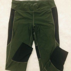 Womens Green/Black Athletic Works Pants. Size XL